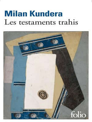 cover image of Les testaments trahis