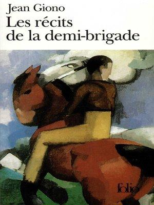 cover image of Les récits de la demi-brigade