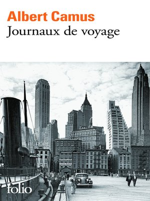 cover image of Journaux de voyage