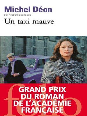 cover image of Un taxi mauve