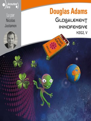 cover image of H2G2 (Tome 5)--Globalement inoffensive