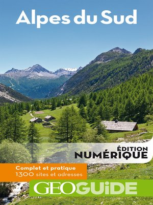 cover image of GEOguide Alpes du sud