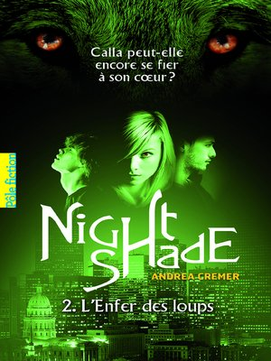cover image of Nightshade (Tome 2)--L'Enfer des loups