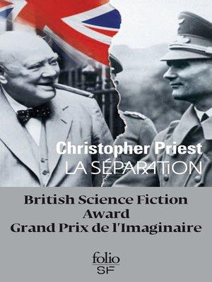cover image of La séparation