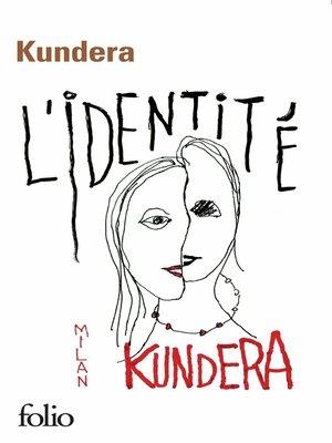 cover image of L'identité