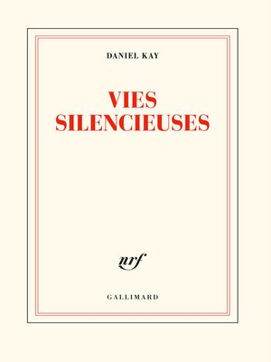 cover image of Vies silencieuses