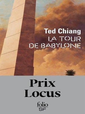 cover image of La tour de Babylone