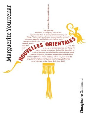 cover image of Nouvelles orientales