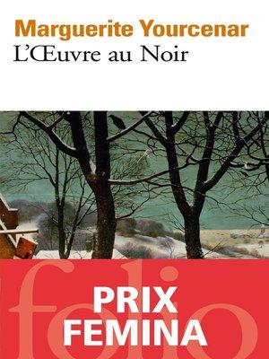 cover image of L'Œuvre au Noir