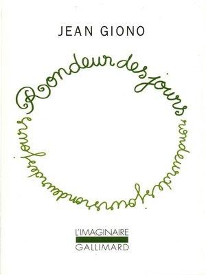 cover image of Rondeur des jours