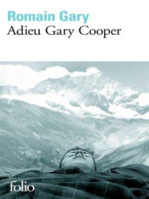 cover image of La comédie américaine (Tome 2)--Adieu Gary Cooper