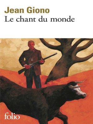cover image of Le chant du monde