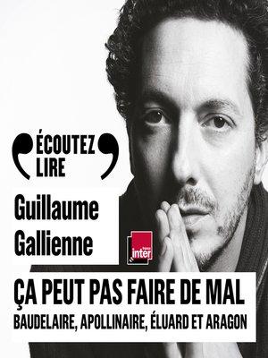 cover image of Ça peut pas faire de mal (Tome 2)--La poésie