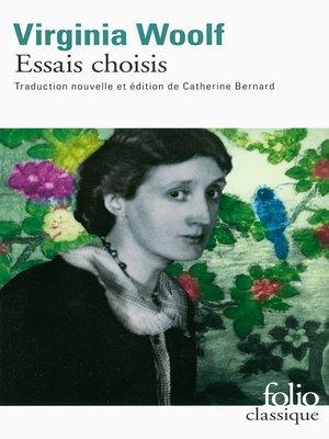 cover image of Essais choisis