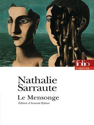 cover image of Le Mensonge