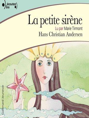 cover image of La petite sirène