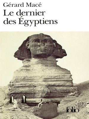 cover image of Le dernier des Égyptiens