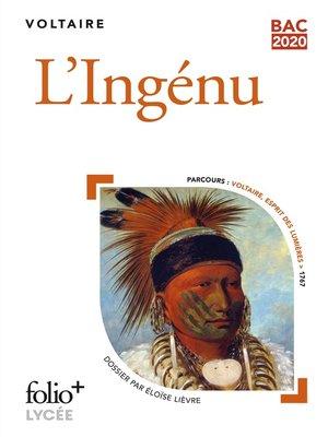 cover image of L'ingénu--BAC 2021