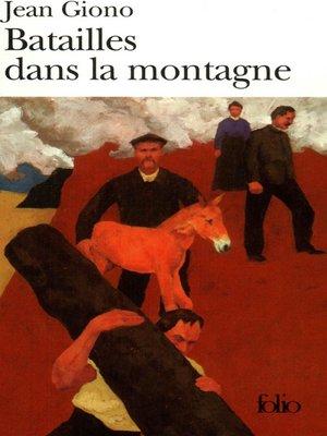 cover image of Batailles dans la montagne