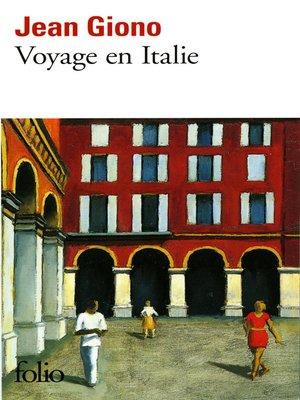 cover image of Voyage en Italie