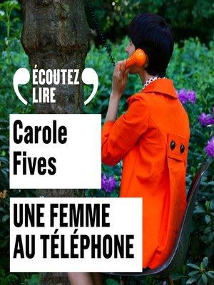 cover image of Une femme au téléphone