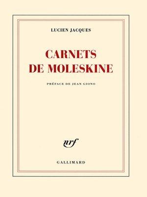 cover image of Carnets de Moleskine