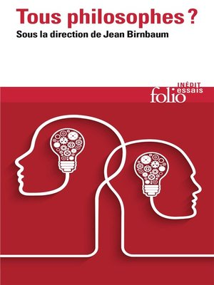 cover image of Tous philosophes ?
