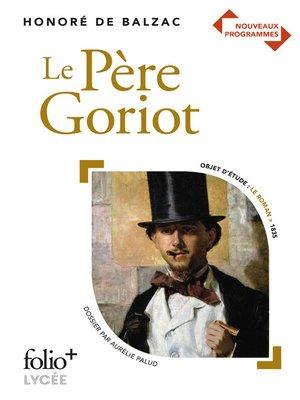 cover image of Le Père Goriot--BAC 2021