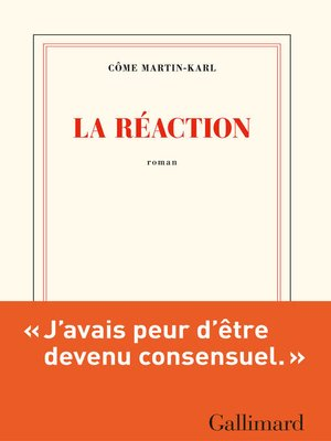 cover image of La réaction
