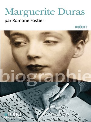 cover image of Marguerite Duras