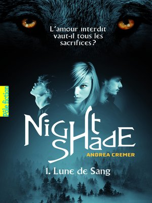 cover image of Nightshade (Tome 1)--Lune de sang