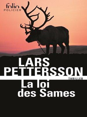 cover image of La loi des Sames