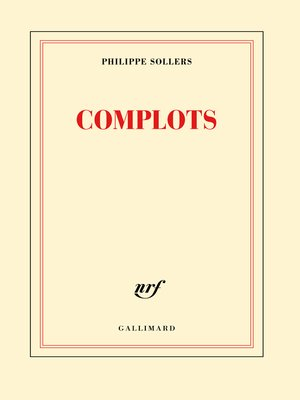 cover image of Complots