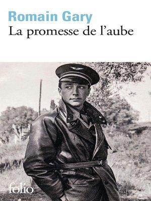 cover image of La promesse de l'aube