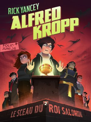 cover image of Alfred Kropp (Tome 2)--Le sceau du roi Salomon