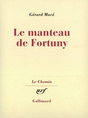 cover image of Le manteau de Fortuny