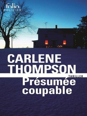 cover image of Présumée coupable