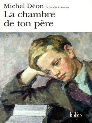 cover image of La chambre de ton père