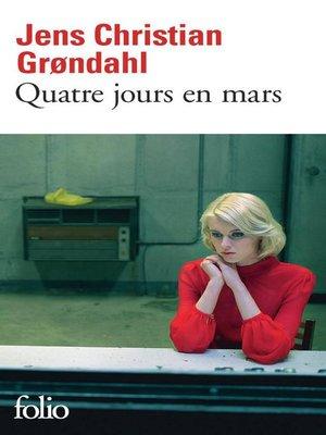 cover image of Quatre jours en mars