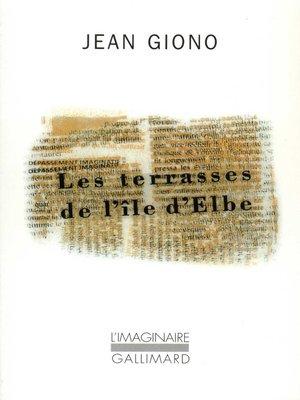 cover image of Les terrasses de l'île d'Elbe