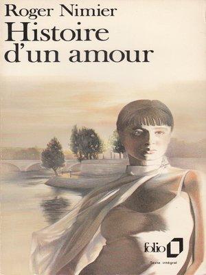 cover image of Histoire d'un amour