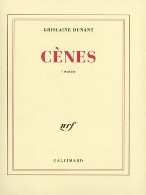 cover image of Cènes
