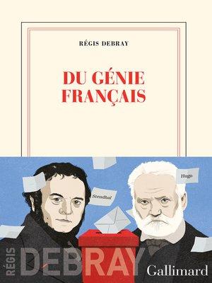 cover image of Du génie français
