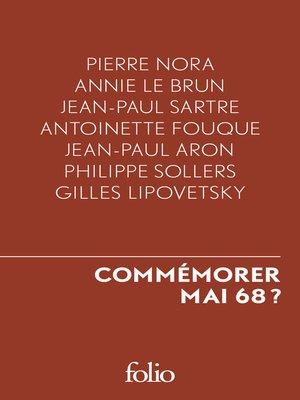 cover image of Commémorer Mai 68 ?
