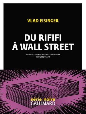cover image of Du rififi à Wall Street