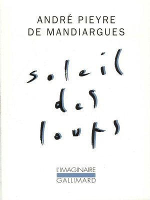 cover image of Soleil des loups