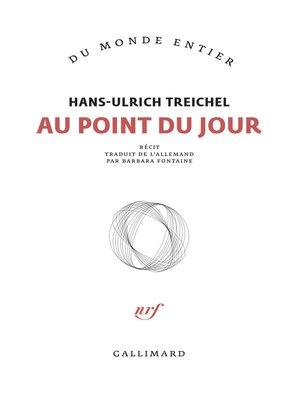 cover image of Au point du jour