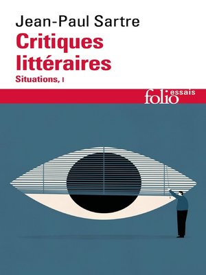 cover image of Critiques littéraires. Situations, I