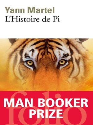 cover image of L'Histoire de Pi