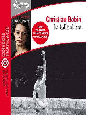 cover image of La folle allure
